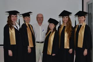 Поздравляем с успешной защитой магистерских диссертаций